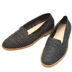 Contre Allee(コントレ アリー)<br>ラフィアプレーントゥスリッポン Souliers BINLEMDOUN 15001000146